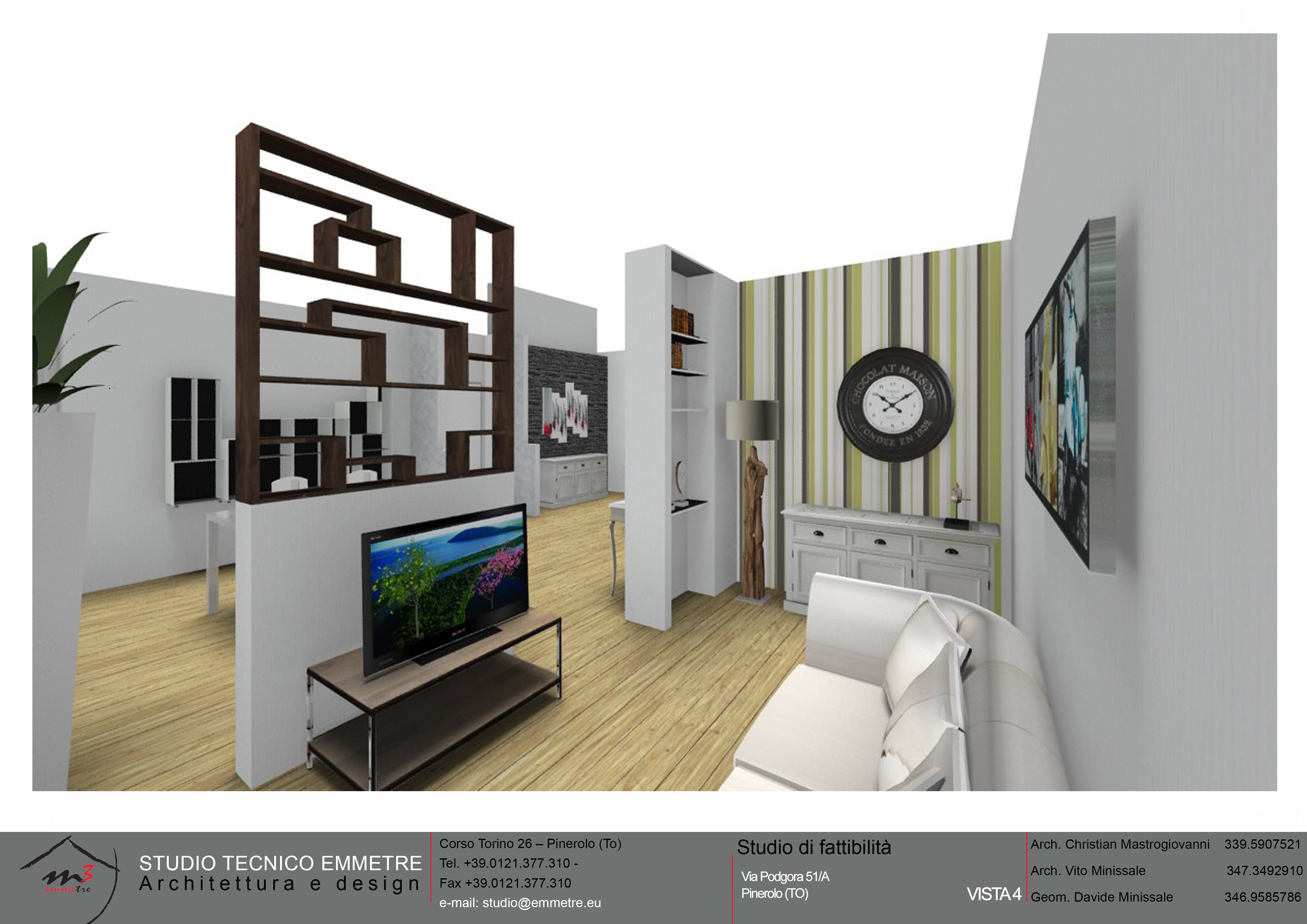 Il progetto della tua casa studio tecnico emmetre for Planimetrie della casa con seminterrato di sciopero
