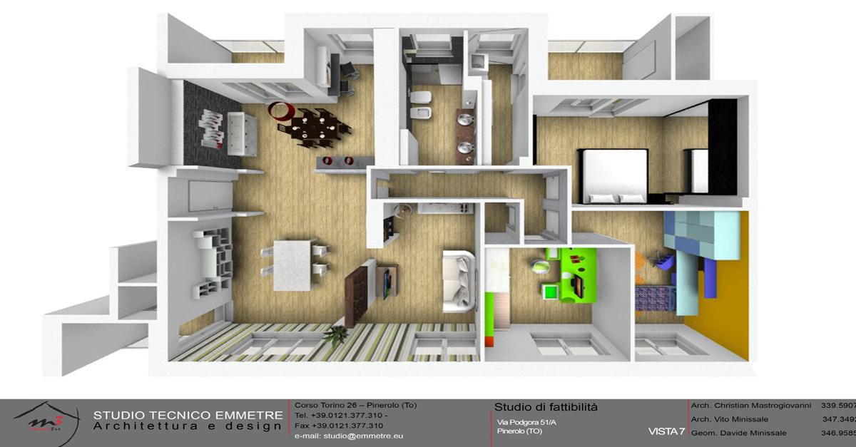 Progettazione Casa 3d : Il progetto della tua casa studio tecnico emmetre